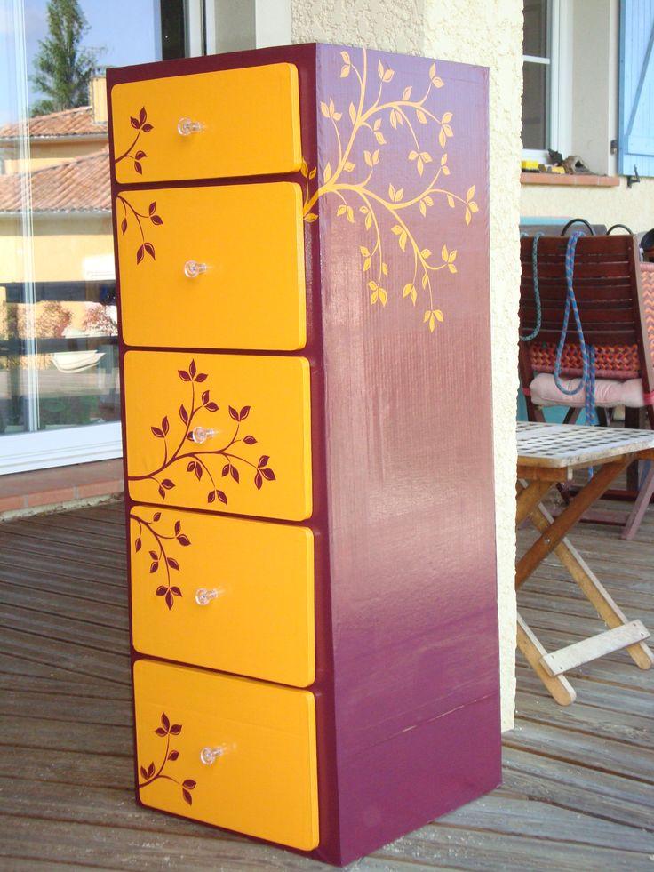 Les 393 meilleures images propos de meubles en carton for Meuble en carton