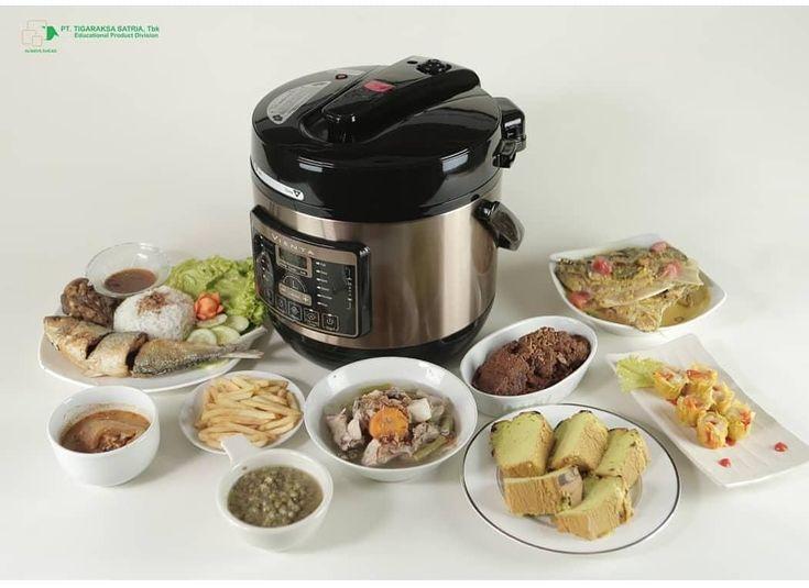 Smart Pressure Cooker Vienta Makanan Sehat Makanan Makan Siang