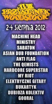 Festival Haltestelle Woodstock 2012 - Relaisübertragung der Konzerte - Hauptbühne