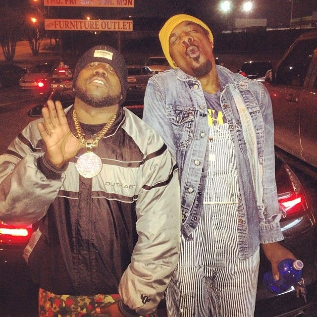 Love the Jean Jacket!   Big Boi Posts Photos of Him and Andre 3000 Hanging Out, Making OutKast Reunion Rumors More Real