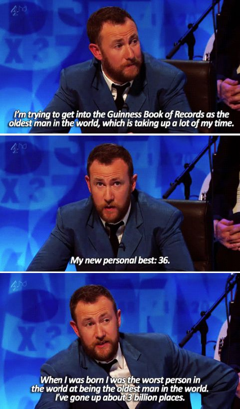 "When Alex Horne shared his dreams. | 34 Times ""8 Out Of 10 Cats Does Countdown"" Was Almost Too Funny"