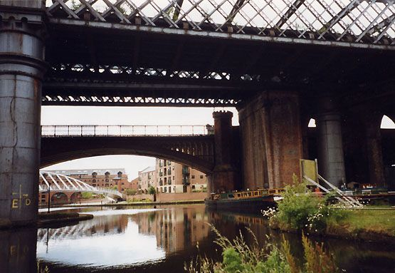 railway arches at Castlefield