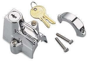 Buy Bikers Choice Motorcycle Helmet Lock Chrome Universal