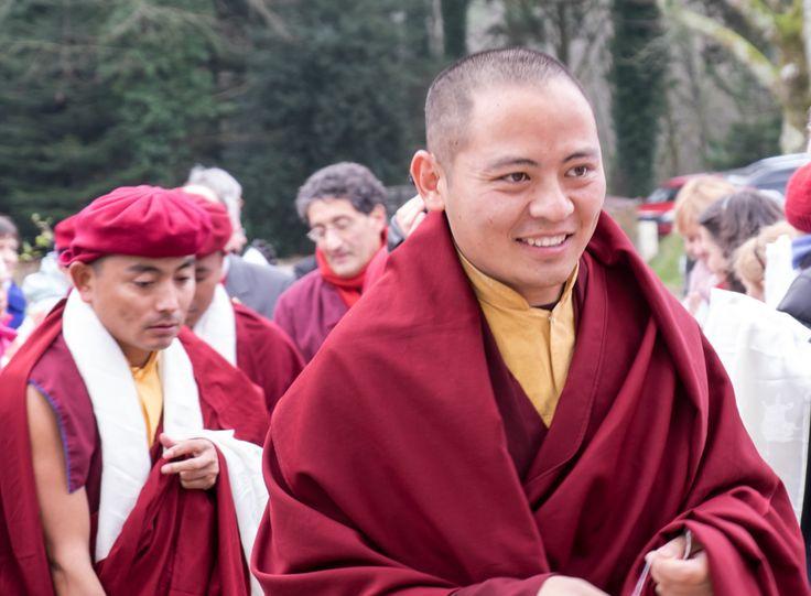 Arrivée de Kyabjé Thuksey Rinpoché