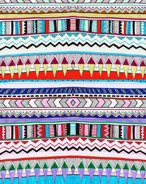 Tribal Print Background For Twitter | www.imgkid.com - The ...