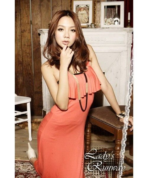 Long Dress HTM0795-Orange HTM0795-Orange Tas import di Jual Murah Cari Tas Import Korea di Distributor Supplier Dropship Baju Import Murah Grosir Fashion Import Reseller Pakaian Import Korea Eceran Butik Fashion Ready Stock Tangan Pertama Berkualitas China Hongkong