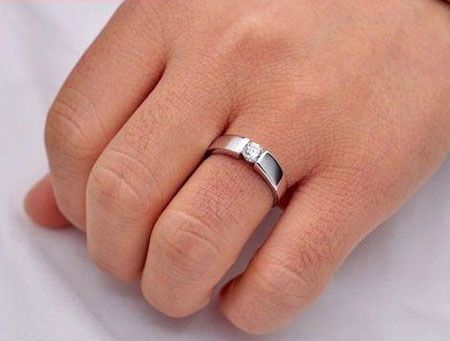 cheap cz sterling silver wedding ring sets for men women