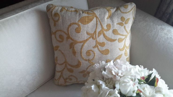 Scatter Cushion Cover Neutral&Yellow-Designer Decorative Throw-Aussie Made