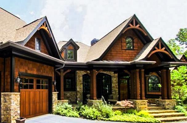 Amicalola Rustic Mountain House Plan Custom Home Building Elegant House Plans Cottage House Plans House Plans Farmhouse Mountain House Plans