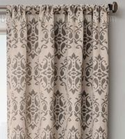 Amazing Azure Damask Curtain Panel Available In 6 Color Choices |  Bestwindowtreatments.com. 108 Inch ...