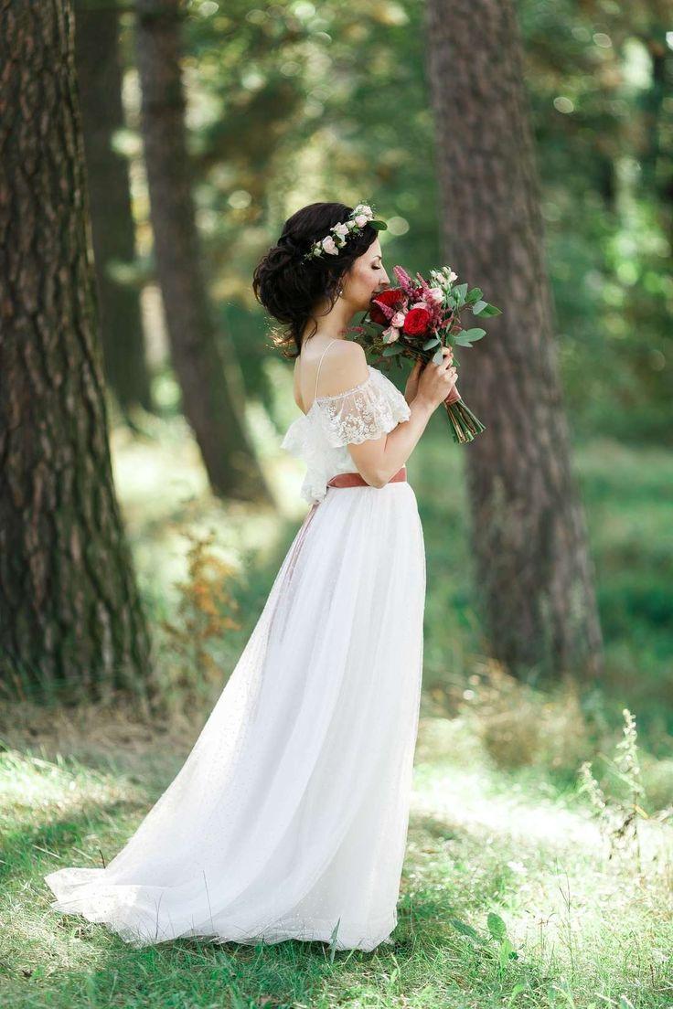 Платья : на природе фото : 251 идей 2017 года на Невеста.info