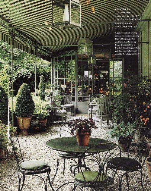 Pierre Berge garden HG date unknown
