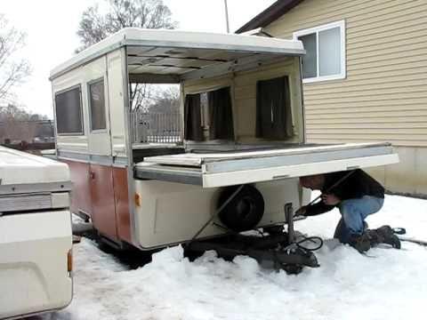 Apache Pop Up Camper Bed End Setup Starling Travel