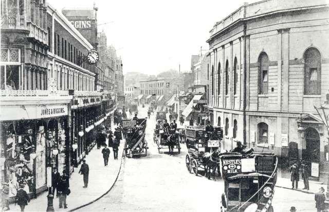 Jones & Higgins in Peckham. The building still remains in use.