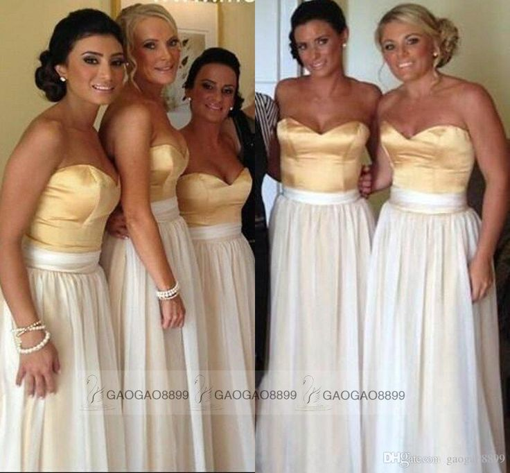 Wholesale cheap bridesmaid dress online, all size - Find best two tones sweetheart maid of honor dresses chiffon A line plus size long bridesmaid bridal party gowns 2015 custom india arabic cheap at discount prices from Chinese bridesmaid dress supplier on DHgate.com.
