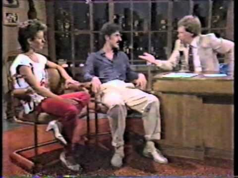 Frank and Moon Zappa on Letterman (Aug. 10, 1982) - Come on, they're dissing my Val here!