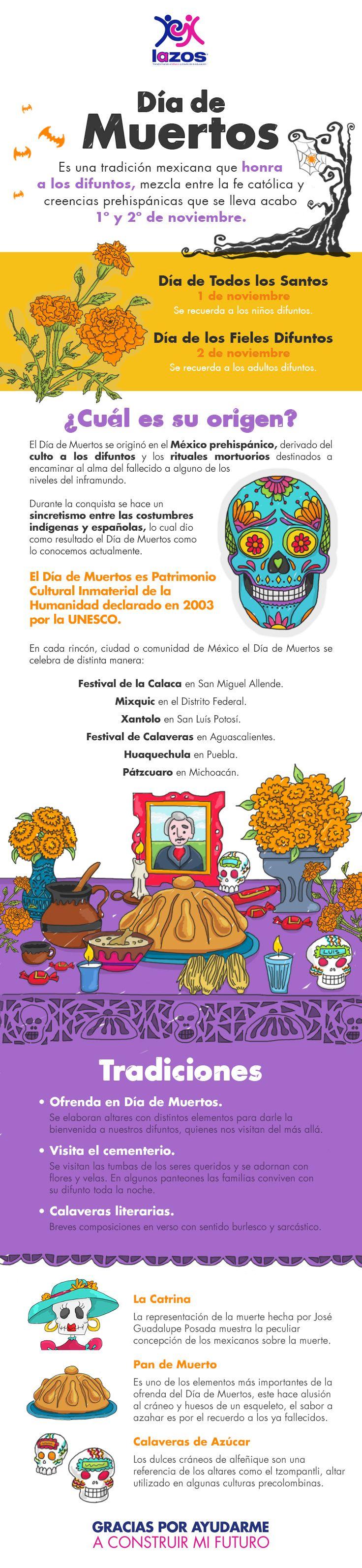 La muerte es vida y trascendencia para México, es por ello que la muerte se festeja de distintas maneras a lo largo del país. ¿Cómo se celebra el Día de Muertos dónde vives?