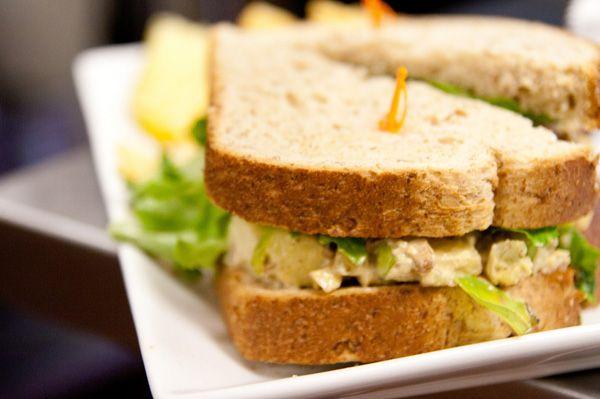 Curried turkey salad | Gluten Free recipes | Pinterest