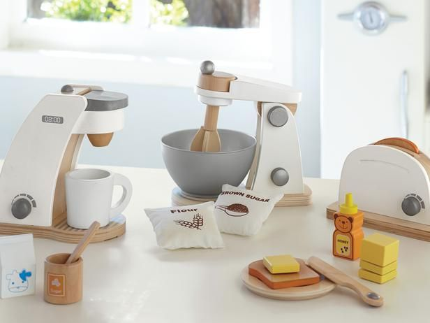 Holiday Gifts for Kids: Wooden Appliances: Wooden Appliances, Kids Stuff, For Kids, Pottery Barn Kids, Wooden Toys, Holidays Gifts, Holiday Gifts, Pottery Barns Kids, Kids Toys