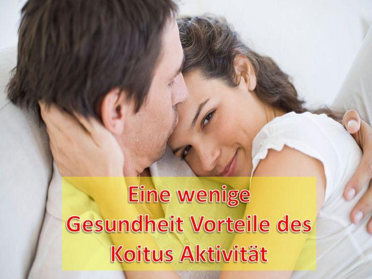 Gesunder Geschlechtsverkehr symbolisiert große Zufriedenheit, physische Genuss und Orgasmus zwischen zwei Körper. Es hat bewährt, dass Ehepaar, wen gesund sinnliches Leben haben, ein glückliches Leben für länge Zeit leiten...lesen mehr hier