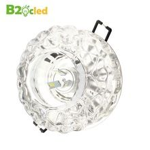 Kiváló minőségű modern kis kristály mennyezeti LED spot 110V 220V 85-265V 3W 5W világít lámpa mennyezeti folyosó folyosó világítás le lámpa (China)