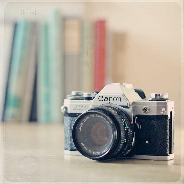 Vintage camera - Canon AE-1