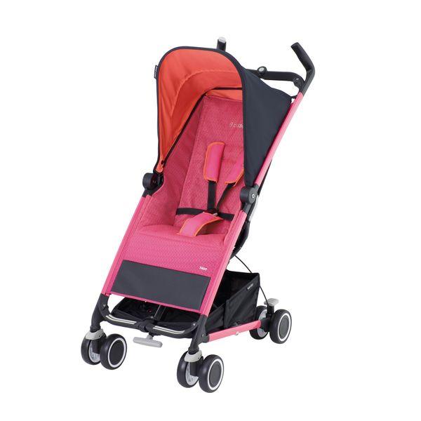 Maxi-Cosi Noa buggy | Spicy Pink 2013  De Maxi-Cosi Noa is een praktische en comfortabele buggy die geschikt is vanaf 6 maanden tot 15 kg ca. 3  jaar. De Noa beschikt over vergrendelbare zwenkwielen aan de voorzijde en is daardoor uiterst wendbaar in kleine ruimtes en bij scherpe bochten. Ideaal voor op vakantie want de Noa is licht en solide.De Maxi-Cosi Noa is met één hand op te vouwen en blijft opgevouwen en opgeborgen keurig rechtop staan. De buggy kan ook met één hand worden uitgevouwen…