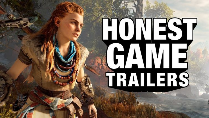 HORIZON ZERO DAWN (Honest Games Trailers)