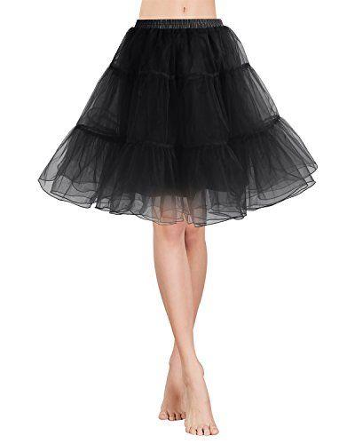 034214a4413d8 Gardenwed Vintage Damen 1950er Rockabilly Mini Tutu Kleid Retro ...