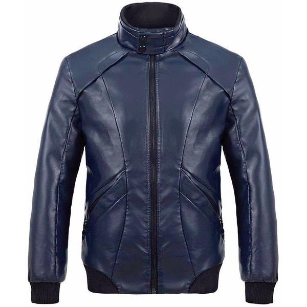 Mens calypso leather bomber jacket ($389) ❤ liked on Polyvore featuring men's fashion, men's clothing, men's outerwear, men's jackets, mens bomber jacket, mens blouson jacket, mens jackets and mens leather flight jacket