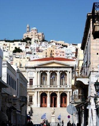 Το Αφηρημένο Blog: Στην Ερμούπολη της Σύρου