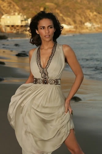 Paula Patton  I really like this dress.