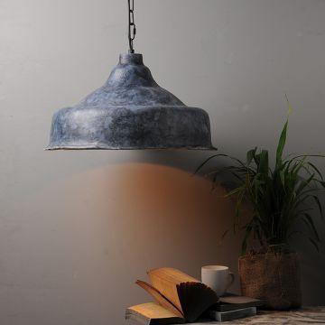 FABULIV Vintage Black Ecomix Pendant Lamp