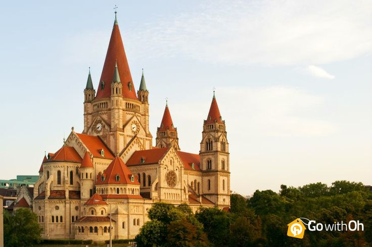 St. Francis of Assisi church is Oh so GORGEOUS! A must visit in #Vienna! Have you been?! #GowithOh