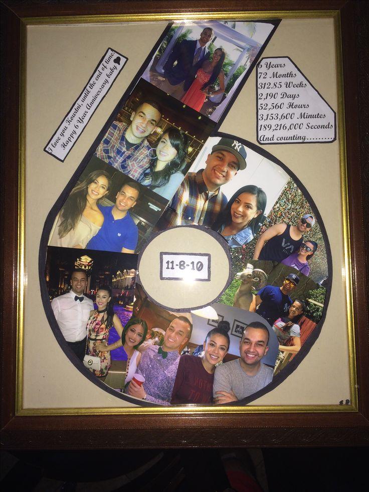 6 Year Anniversary gift