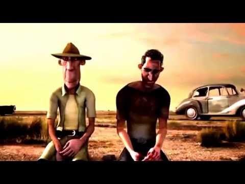 Video kartun lucu - Ambisi menang balapan mobil antik - YouTube