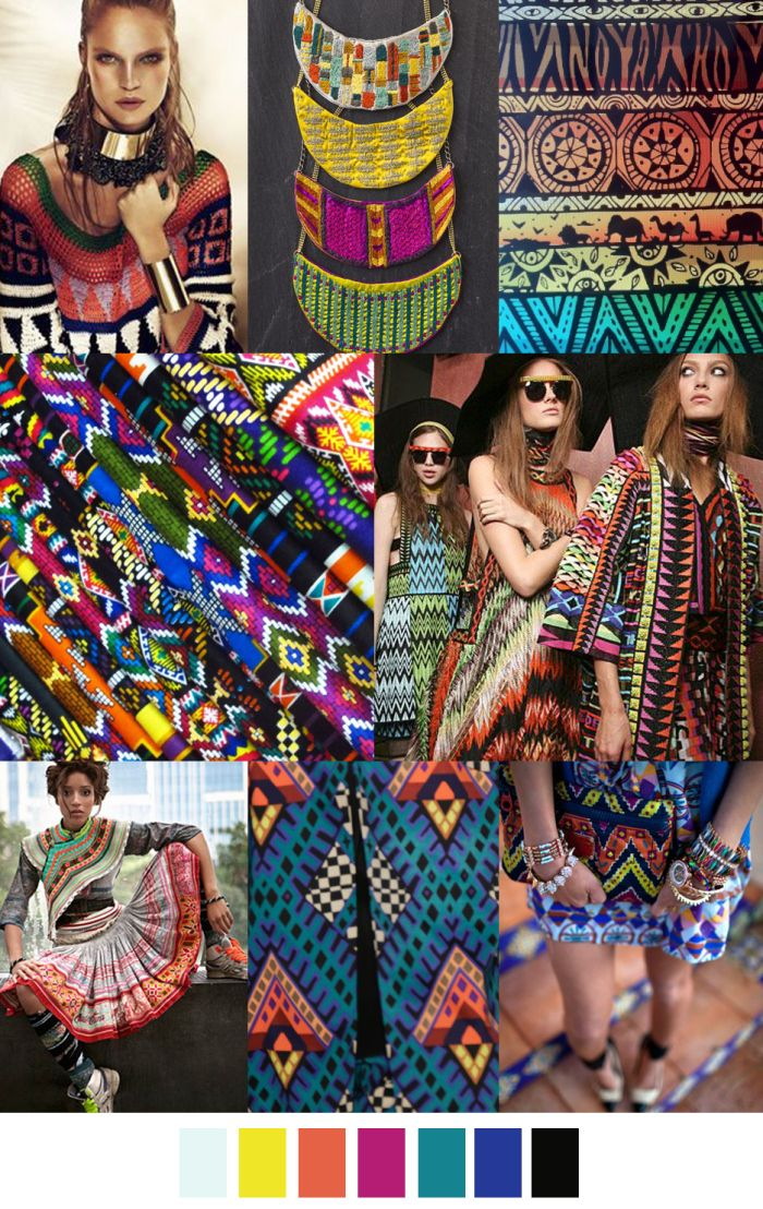 TRIBAL ESSENCE spring summer 17 pattern curator