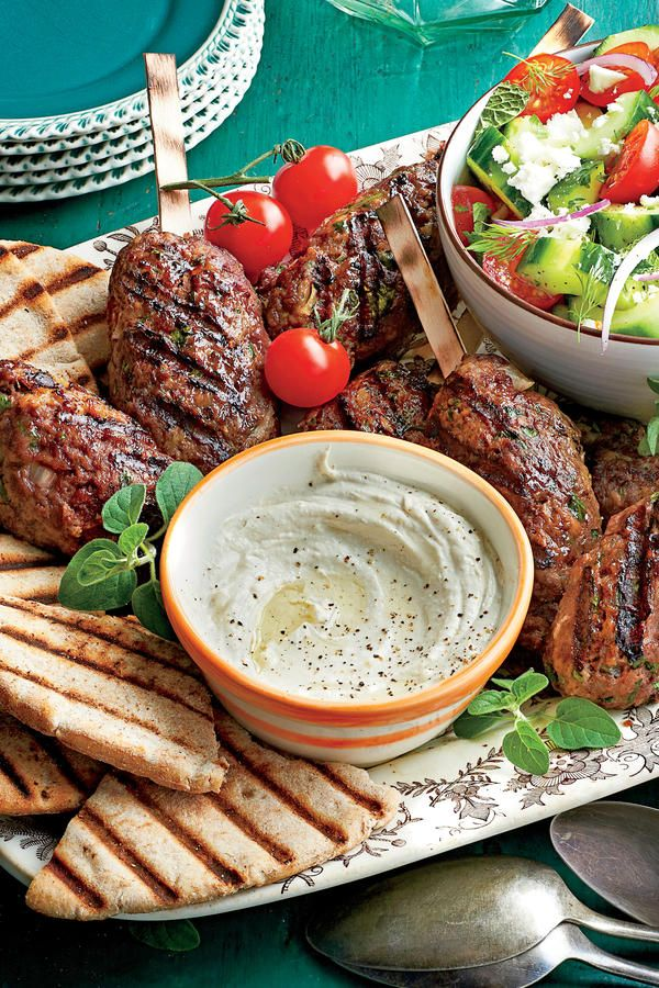 Yogurt-Tahini Sauce - October 2015 Recipes - Southernliving. Recipe: Yogurt-Tahini Sauce   Serve this flavorful sauce with Spiced Beef Kabobs.