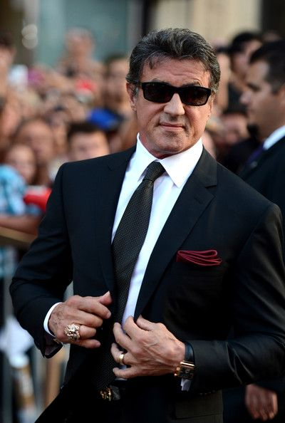 "Sylvester Stallone Photos Photos - Premiere Of Lionsgate Films' ""The Expendables 2"" - Red Carpet - Zimbio"