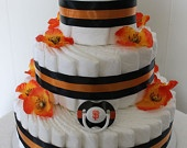 Humm Baby SF Giants diaper cake