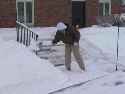 Calculate How Many Pounds Of Snow You Shoveled « CBS Chicago