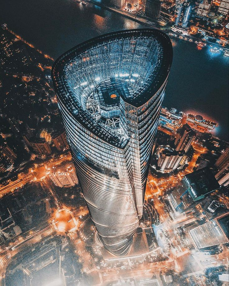 """379 Likes, 14 Comments - haha (@a.haha.h) on Instagram: """"ShangHai tower drone shot ⚔️⚔️⚔️"""""""