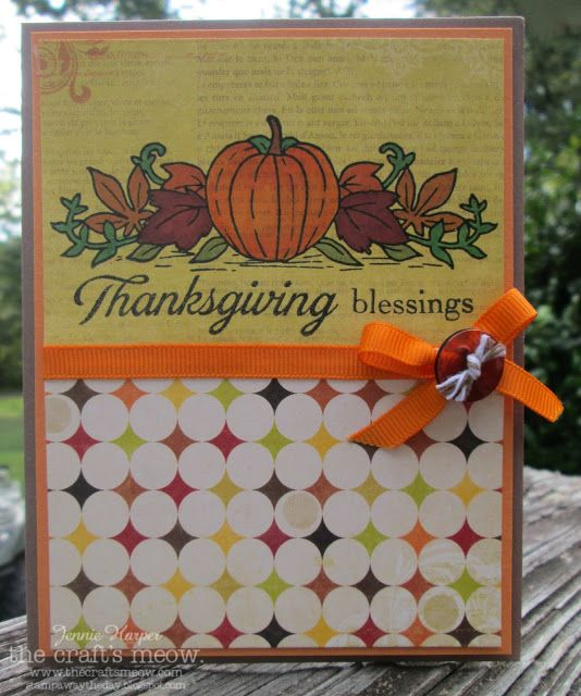 Stampin' Away the Day: The Craft's Meow Preview ~ Autumn Borders