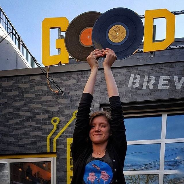 From @goodrobotbrew  Happy/bluesy Record Store Day with @blackbuffalolps! Starting at noon we'll host a vinyl record fair in the brewery while blues guitarist Skinny Leigh and DJ & MC combo Ambition ft. @fester902 cut a live vinyl record in the taproom with the help of @madstyluspressure which will be on sale later in the day. Plus @jorunbombay and DJ Moves will continue spinning through the day while you sip on our newest beer release Mississippi Goddam (American barleywine) a tribute to…