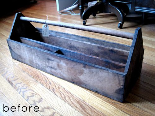 Must must must have one of these: Toolbox Organic, Restoration Furniture, Antiques Stores, Creative Toolbox, Wall Organic, Tools Boxes, Junk Drawers, West Furniture, Furniture Revival