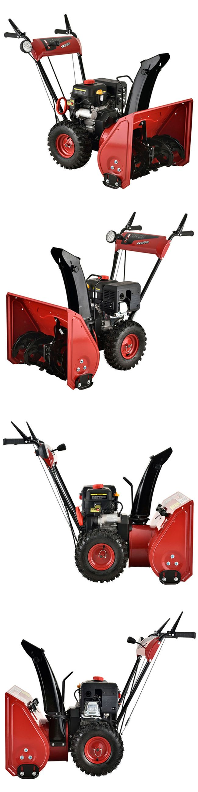 Snow Blowers 42230: Amico Power 24 Inch 212Cc Two-Stage Electric Start Gas Snow Blower Thrower -> BUY IT NOW ONLY: $799 on eBay!