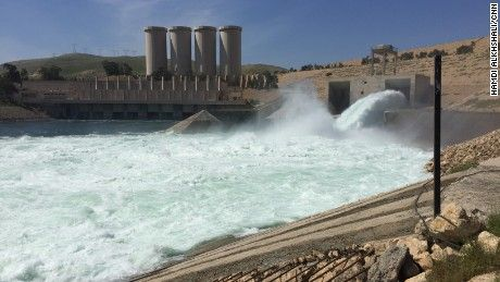 """Iraq's Mosul Dam is said to be at risk of """"catastrophic failure."""" If it breaks, 1.5 million people could be at risk. CNN went inside to see the problem."""