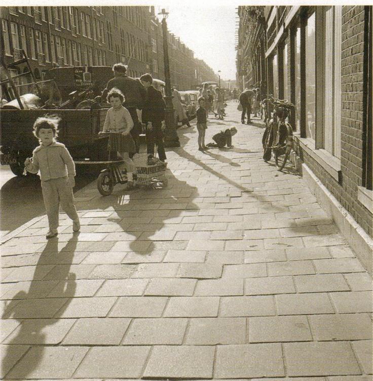 Amsterdam, 1960.  Photo by Eva Besnyo
