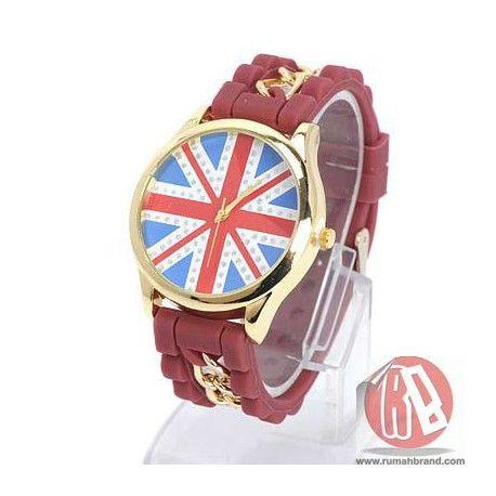 England (J-835) @Rp. 99.000,-   http://rumahbrand.com/tren-wanita/1508-england.html  #hadiah #kado #jam #clock #souvenir #digital #waktu #watch #gimmick #fashion #rumahbrand #tren #trendy #murah #store #jamtangan #mall #style #shopping #retail #rumah #mal #fancy #brand #grosir #pukul #lonceng #arloji #pencatatwaktu #penjagawaktu #hour #time #ticker #timepiece #horologe #timekeeper #analog #jamdigital #jamanalog #jammurah #jamtanganmurah #bazaar #jamtangankeren #arcademarketplace #digitimes…