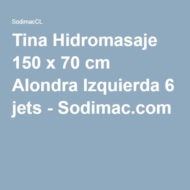 Tina Hidromasaje 150 x 70 cm Alondra Izquierda 6 jets-Sodimac.com
